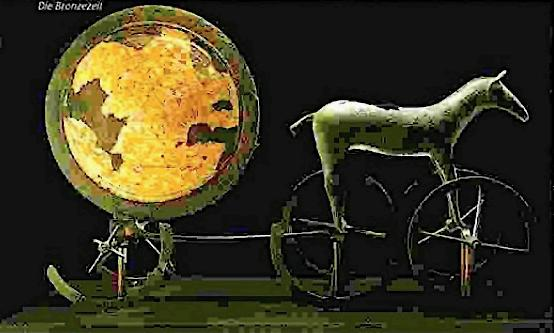 Heiliger Sonnenwagen von Trondheim 1.200 v. Chr.